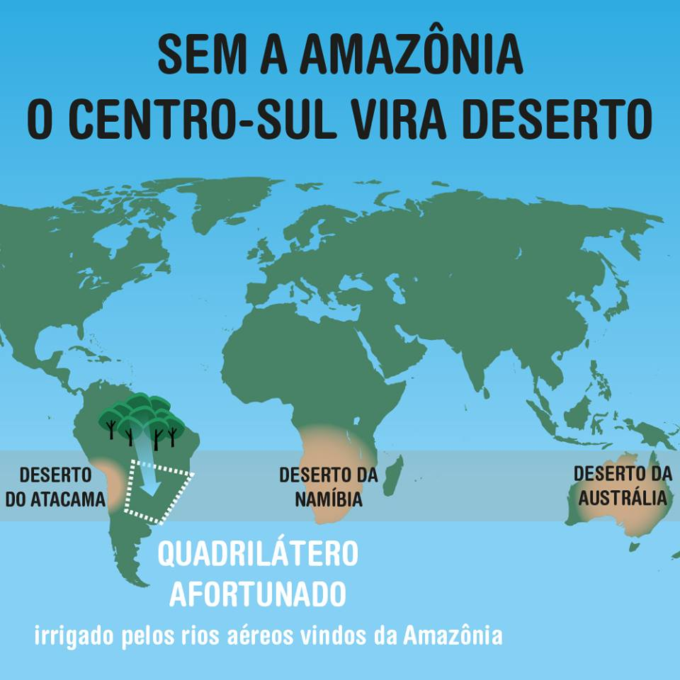 Resultado de imagem para rios voadores da amazônia